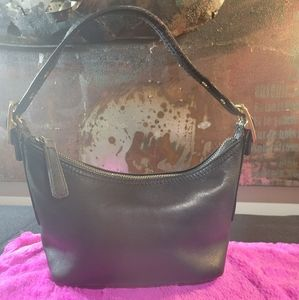 Small Black Vintage COACH purse